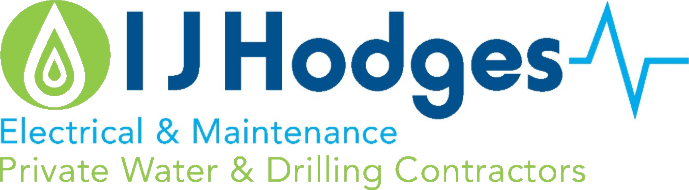 I J Hodges Cornwall Electrical Water Contractors Logo